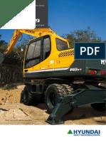 R140W-9 wheel excavator