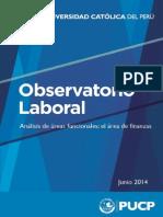 Informe del Área funcional de Finanzas