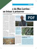 Réserve naturelle du Mas Larrieu