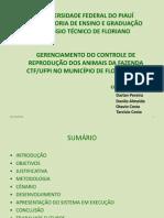 Slide Sistema de gerenciamento de uma Fazenda em java