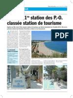Argelès-sur-mer, 1ère station de tourisme