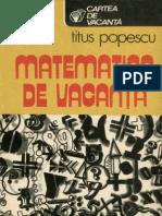 Matematica distractiva - Titus POPESCU - Matematica de vacanta %.pdf