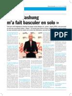 Interview de Gaëtan Roussel- Les Déferlantes