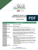 I Foro del Cluster de Salud -  Agenda Preliminar