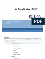 BPAM Bond Index Road Show 2009