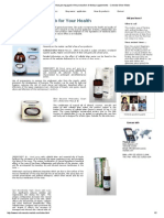Blue water MaxLab engaged in the production of dietary supplements - Colloidal Silver Water.pdf