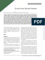 Acute Otitis Media and Acute Bacterial Sinusitis