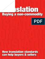 TranslationNon Commodity