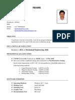 CV in ARAMCO Format