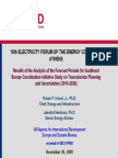 Results of the Analysis of the Forecast Periods for Southeast Europe Coordination Initiative Study on Transmission Planning Uncertainties (2015-2020), USAID