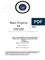 Ece Dsp Dip Main Project List