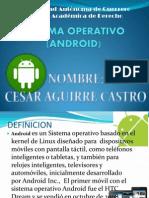 Sistema Operativo Androin 33