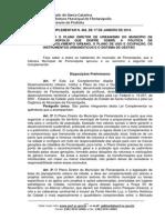 Plano Diretor Florianopolis
