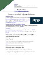 Zona Pediátrica - Octubre 2014 - Software Médico y Curso Online de Emergencias Pediátricas