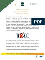 Desarrollo de contenidos Módulo 3 | MOOC Comunicación y Aprendizaje Móvil
