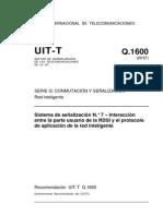Sistema de señalización N.° 7 – RDSI y el RI -T-REC-Q.1600-199709-I!!PDF-S