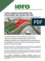 Firma Inglesa Está Detrás de Renovación Del Centro de Cali