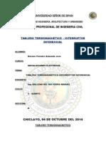 Tablero Termomagnetico-Interruptor Diferencial