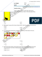 IMO (Math Olympiad) Sample Practice Paper for Class 4 by