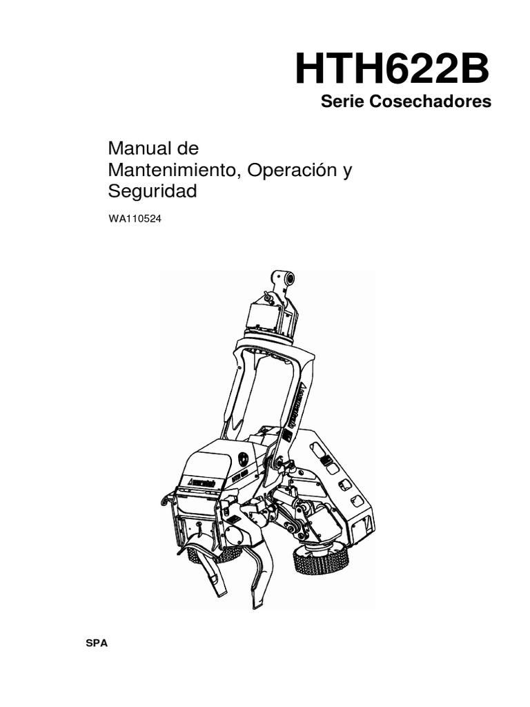 Manual de Mantenimiento,Operacion y Seguridad en Español