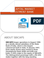 Sbi Capital Market Investment Bank