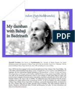 My Darshan of Babaji in Badrinath En