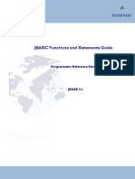 JBASIC Functions and Statements