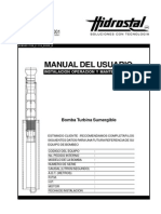 Manual Bombas Sumergibles BJ- Hidrostal