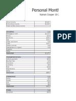 budget plan kainan cooper block 2