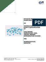 Temperature Mapping Study & Qualification Protocol Procedure