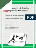 Analisi Del Emprendedor en México PERLA Y ELIAS