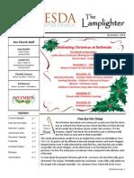 December Lamplighter 2014