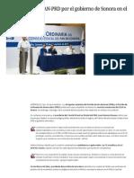 24-11-2014 Cocinan alianza PAN-PRD por el gobierno de Sonora en el 2015.