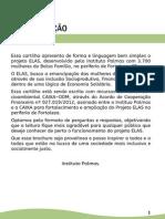 Cartilha - Projeto Elas