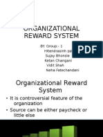 Organizational Reward System
