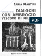 Carlo Maria Martini - Sette Dialoghi Con Ambrogio vescovo di Milano