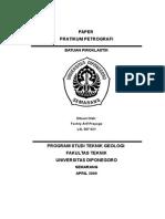 PAPER Piroklastik