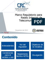 regulación CRC