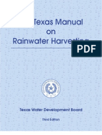 The Texas Manual on Rainwater Harvesting