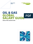 Salary Survey of Oil and Gas