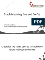 Graph Modeling Dos and Don'ts