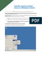 Active Directory Manual Server 8