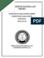 Jurisprudence Project Semester V