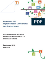 Fx13.5 CertificationReport TelkomIndonesia V1.0