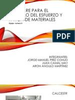 Software Para El Calculo Del Esfuerzo y Fatiga