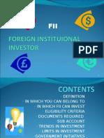 Foreign Instituional Investor
