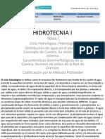 HIDROT I Clase 1 Conceptos Basicos
