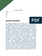 MATERIALES ORGANICOS