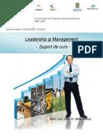 Suport Curs Leadership Si Management