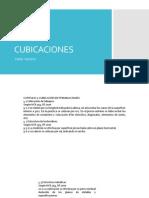 Cubicaciones Nch 353